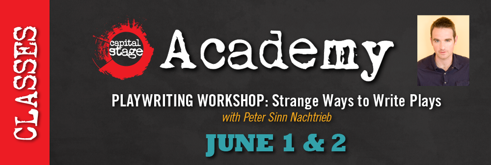 Capital Stage Academy Writing Workshop