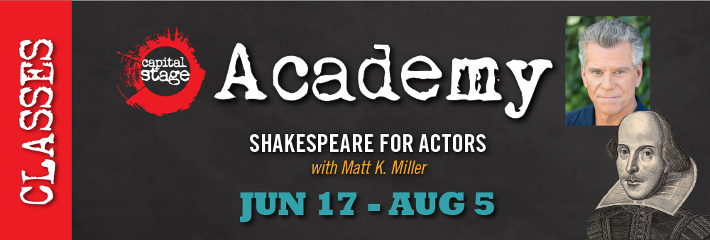 Shakespeare for Actors - Summer 2019