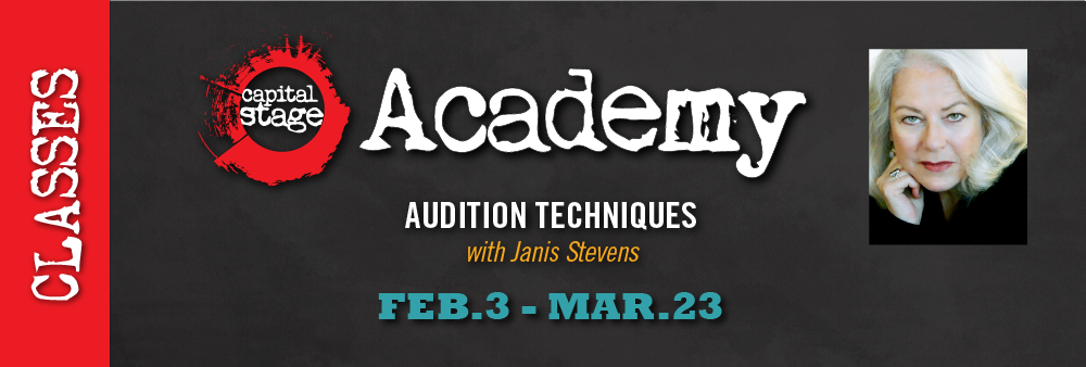CapStage Academy: Audition Techniques with Janis Stevens