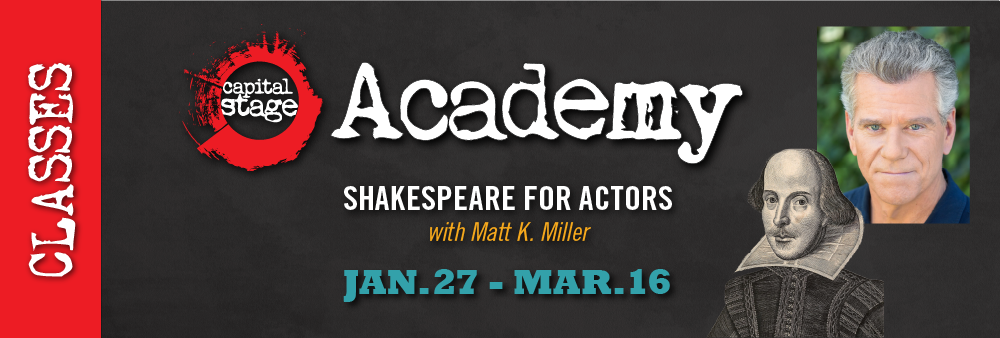 Upcoming Academy Class: Shakespeare for Actors