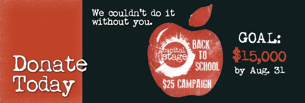 Back to School $25 Campaign slider