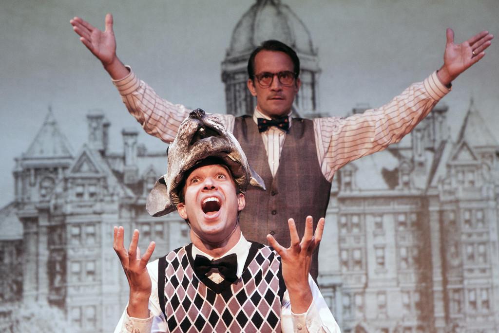 Andrew Joseph Perez* & Francis Gercke*, Photo by Charr Crail, *Member Actors' Equity Association