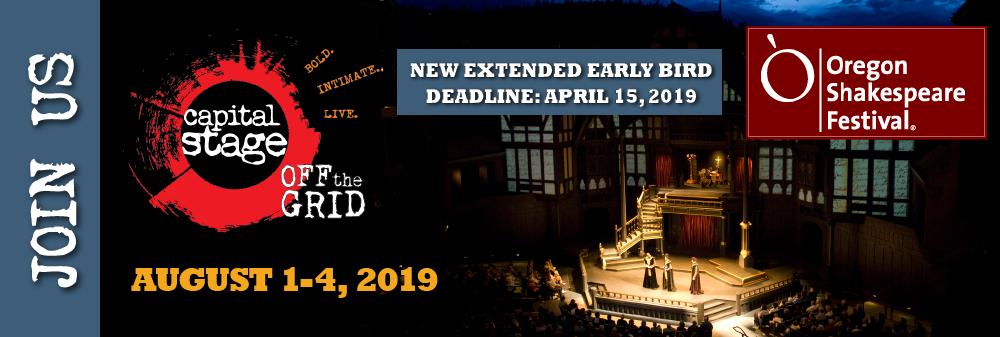 CapStage Oregon Shakespeare Festival Tour 2019