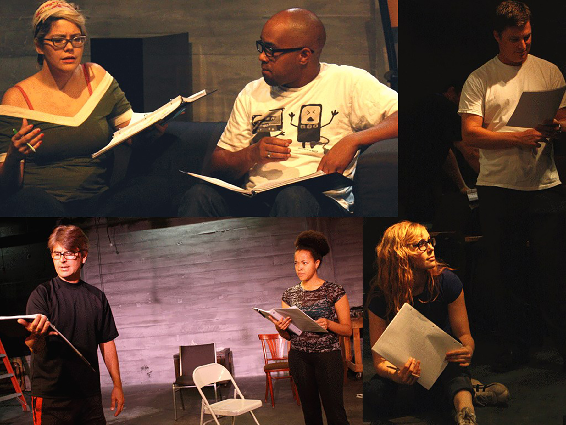 Playwrights Rev collage