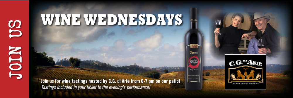 Join us for Wine Wednesdays at Capital Stage!